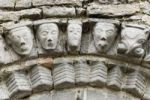 Thumbnail Faces of stone, Dysert O'Dea church ruins near Corofin, County Clare, Ireland, Europe