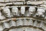 Thumbnail Faces of stone, Dysert O'Dea church ruins near Corofin, County Clare, Ireland, Europe