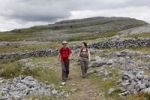 Thumbnail Hikers in Burren National Park, County Clare, Ireland, Europe