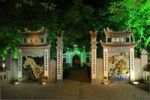 Thumbnail Entrance to the Red Bridge, Hoan Kiem Lake, Hanoi, Vietnam, Southeast Asia