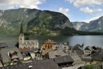 Thumbnail City view of Hallstatt on Hallstaetter See lake, UNESCO World Heritage Site, Salzkammergut, Alps, Upper Austria, Austria, Europe