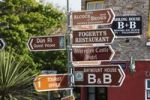 Thumbnail Signpost in Clifden, Connemara, County Galway, Republic of Ireland, Europe