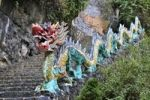 Thumbnail Dragon next to stairs, near Ninh Binh, dry Halong Bay, Vietnam, Southeast Asia