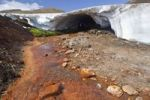 Thumbnail Hot red stream in a volcanic landscape, Eyjafjallajoekull, Iceland, Europe