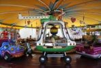 Thumbnail Police helicopter, merry-go-round