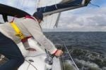 Thumbnail Sailor hauling the foresail