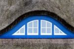 Thumbnail Dormer window of a thatched house on the island of Hiddensee, Mecklenburg-Western Pomerania, Germany, Europe
