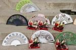 Thumbnail Fans and castanets on the Plaza de Espana, Seville, Andalucia, Spain, Europe