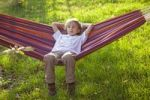 Thumbnail Little girl in a hammock