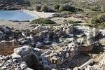 Thumbnail Itanos, basilica in archaeological area, eastern Crete, Greece
