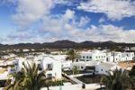 Thumbnail View over Yaiza towards the Montañas del Fuego, Mountains of Fire, Lanzarote, Canary Islands, Spain, Europe