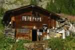 Thumbnail Traditional chalet, a cheese factory, Fafleralp Mountains, Loetschental, Valais, Switzerland, Europe