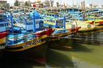 Thumbnail Fishing boats in the port of Phan Thiet, Viet Nam