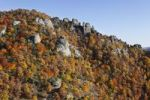 Thumbnail Rocks and woodland in autumn, located above Duernstein castle ruin, Wachau valley, Waldviertel region, Lower Austria, Austria, Europe