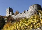 Thumbnail Hinterhaus castle ruins, town of Spitz, Wachau valley, Waldviertel region, Lower Austria, Europe