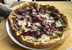 Thumbnail Pizza radicchio and cheese in Naples, Campania, Italy, Europe