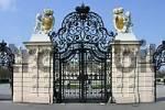 Thumbnail Das Eingangsportal zum Schloß Belvedere Wien Österreich