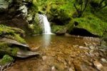 Thumbnail Waterfall in the Lotenbachklamm gorge, a branch of Wutachschlucht gorge, southern Black Forest, Baden-Wuerttemberg, Germany, Europe