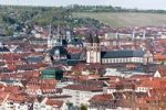 Thumbnail View of Wuerzburg as seen from Fortress Marienberg, Wuerzburg Cathedral, church of St John, Wuerzburg, Franconia, Bavaria, Germany, Europe