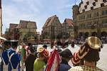 Thumbnail traditional dance in Rothenburg ob der Tauber - Franconia - Germany