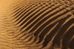 Thumbnail Rippled surface of a sand dune of Erg Admer, Wilaya Illizi, Algeria, Sahara, North Africa, Africa