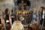 Thumbnail Hall with altar of icons in church Agios Mamas in Guezelyurt Morfou North Cyprus