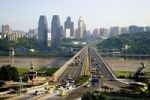 Thumbnail Cityscape, bridge, Changjiang river, Chongqing, China, Asia