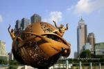 Thumbnail Contemporary sculpture, Chongqing, China, Asia