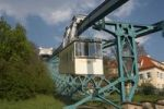 Thumbnail Ropeway, gondola, view on the mountain station, Loschwitz, Dresden, Saxony, Germany, Europe