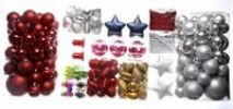 Thumbnail Christmas decorations, Christmas tree balls in transparent packaging