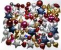 Thumbnail Christmas decorations, various Christmas tree balls, baubles