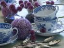Thumbnail Fine porcelain tableware in a stylish table decoration