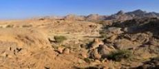 Thumbnail Granite landscape in the Hoggar, Ahaggar Mountains, Wilaya Tamanrasset, Algeria, Sahara, North Africa