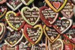 Thumbnail Gingerbread hearts, Oktoberfest, Munich, Bavaria, Germany, Europe