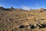 Thumbnail Volcanic landscape of Atakor, Hoggar, Ahaggar Mountains, Wilaya Tamanrasset, Algeria, Sahara, North Africa