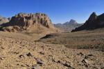Thumbnail Volcanic landscape of Atakor near Assekrem, Hoggar, Ahaggar Mountains, Wilaya Tamanrasset, Algeria, Sahara, North Africa