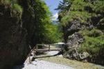 Thumbnail Trail in the Griessbachklamm gorge, Erpfendorf near St. Johann, Tyrol, Austria, Europe