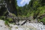 Thumbnail Trail in the Griessbachklamm gorge, Erpfendorf near St. Johann, Tyrol, Austria, Europe