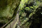 Thumbnail Climbing facilities in the Steinwandklamm canyon, Triestingtal valley, Lower Austria, Austria, Europe