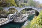 Thumbnail Ponte dei Salti stone bridge, Verzasca, Lavertezzo, Ticino, Switzerland, Europe