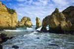 Thumbnail Famous rocky coast, Ponta da Piedade, Mercy Point, Lagos, Algarve region, Portugal, Europe