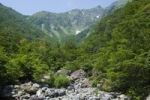 Thumbnail River, rocks, mountain scenery, Gunma, Japan, Asia