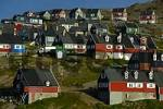 Thumbnail Colourful houses at a slope settlement Ammassalik Eastgreenland