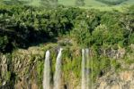 Thumbnail Tamarind Falls or Tamarin Falls, Mauritius, Africa