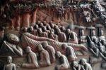 Thumbnail Reclining Buddha, carving, Angkor Wat, Cambodia, Southeast Asia