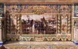 Thumbnail Tile mosaic of a Spanish province, Plaza de España, Seville, Spain, Europe