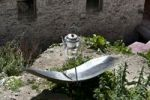 Thumbnail Tea-kettle heated by a solar mirror, solar energy, Ganden monastery, also known as Ganden Namgyeling, Himalaya Range, central Tibet, Ue-Tsang, Tibet Autonomous Region, People's Republic of China,