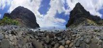 Thumbnail Rocks on the beach of Playa de Masca, Tenerife, Canary Islands, Spain, Europe