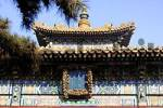 Thumbnail Tower of a temple hall, Tibetan Buddhist temple Yong He Gong, Beijing, China