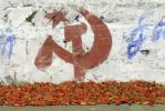 Thumbnail Chili peppers and campaigning for the Communist Party, Munnar, Kerala, South India, India, Asia